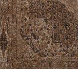 Vintage vloerkleed Tabriz   L. Bruin_