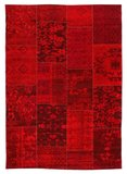 Patchwork vloerkleed New York 430 Rood_