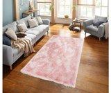 Hoogpool vloerkleed Grandora 411 kleur Roze 55_