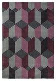 Design vloerkleed Scorpio kleur purple_