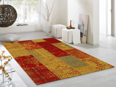 Vloerkleed Patchwork New York 598 Multi