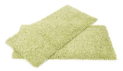 Groen hoogpolig vloerkleed Atlanta 650 Groen