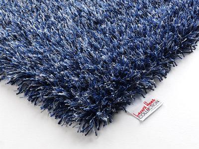 Blauw hoogpolig vloerkleed Alaska 610