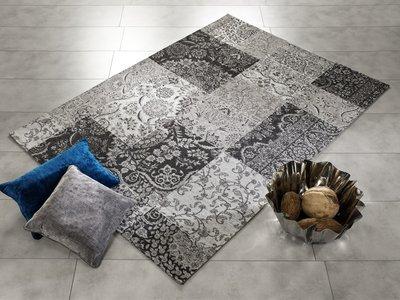 Patchwork karpet Avinci 448 Grijs