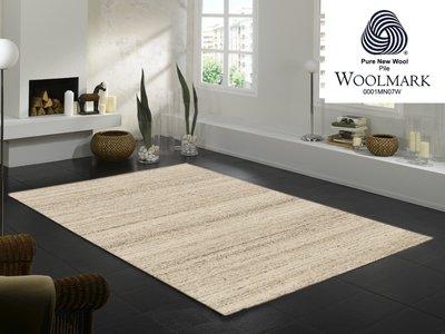 Wollen vloerkleden Wool Plus 469 Natur