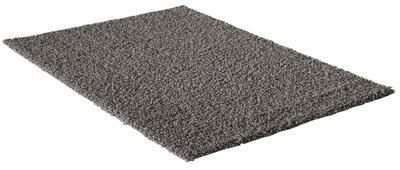 Grijs hoogpolig vloerkleed of karpet Seram 1300