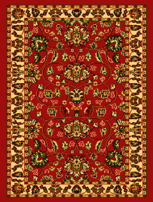 Orient vloerkleed Saphir 2430 kleur Rood
