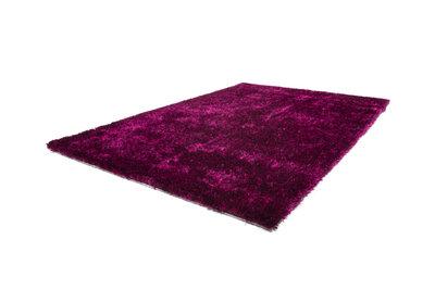 Hoogpolig karpet Diadeem Violet