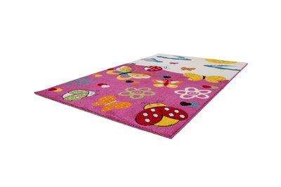Vloerkleed Kinderkamer Roze : Kinderkamer vloerkleed amigo roze eurocarpets
