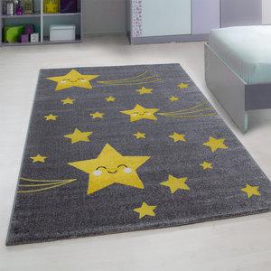 Kinderkamer tapijt Child 610/AY Geel