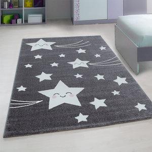 Kinderkamer tapijt Child 610/AY Grijs