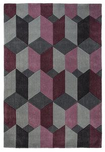 Design vloerkleed Scorpio kleur purple