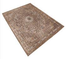 Vintage-vloerkleed-Tabriz---L.-Bruin
