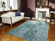 Vintage-vloerkleed-New-York-486-Turquoise