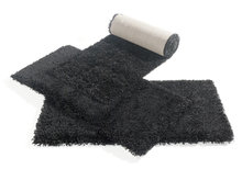 Zwart-hoogpolig-vloerkleed-Atlanta-642-Zwart