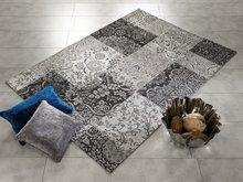 Patchwork-karpet-Avinci-448-Grijs