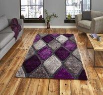 purple grijs vloerkleed