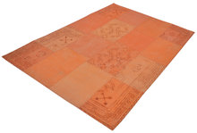 Patchwork-vloerkleed-Lira-Multicolor-oranje