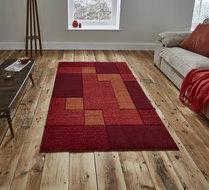 Vloerkleed-Madras-kleur-rood-A0221