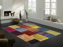 Handgemaakt patchwork vloerkleed