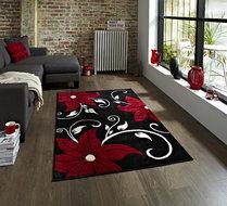 Aanbieding-vloerkleed-Victoria-kleur-zwart-rood-OC15