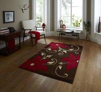 bruin rood tapijt