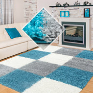 Modern-turquoise-vloerkleed-Adriana-Shaggy--1501-AY-Turquoise