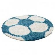 Voetbal-vloerkleed-Funny-6001-kleur-Turquoise