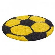 Voetbal-vloerkleed-Funny-6001-kleur-Geel