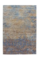 Jacquard-vloerkleed-Garda-Multi-Blauw-Beige